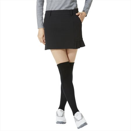 Narrow Pleated Skort