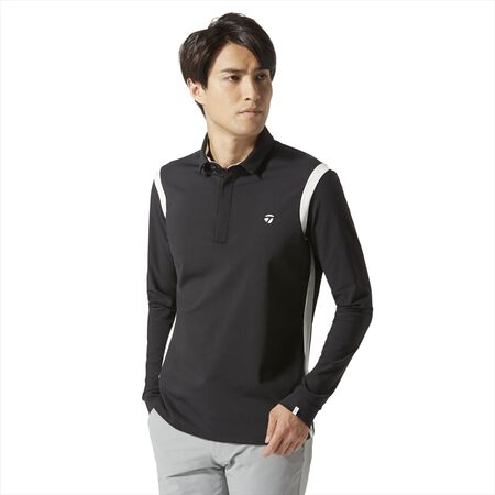 Contrast Line L/S Polo