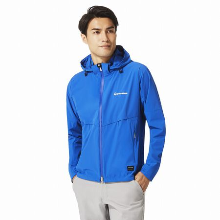 Full lined wind hoody jacket