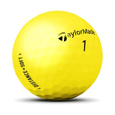 Distance + Soft Matte Yellow Ball