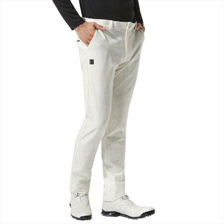 Tonal Color Graphic Tapered Pants