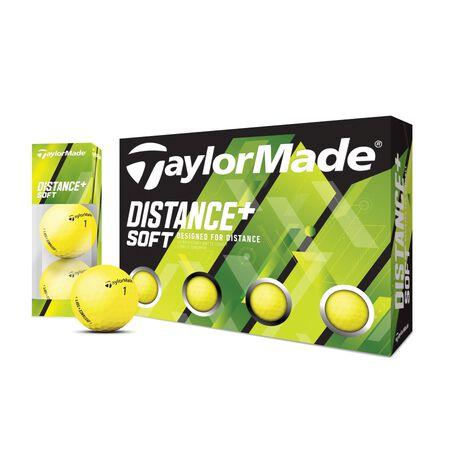 Distance + Soft Matte Yellow Ball
