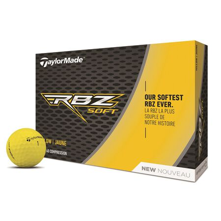 RBZ Soft Yellow Golf Balls