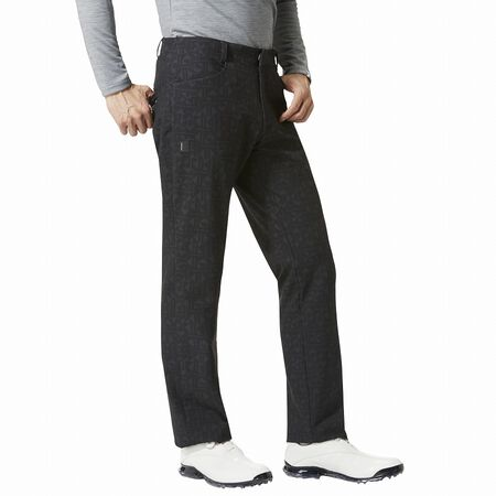 Embossed Stretch Pants