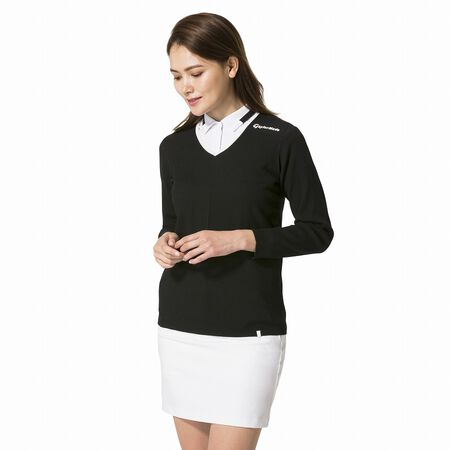 Women's Whole Garment Pullover Sweater