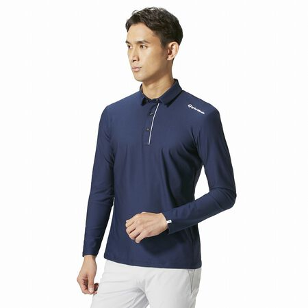 Tailored L / S Polo