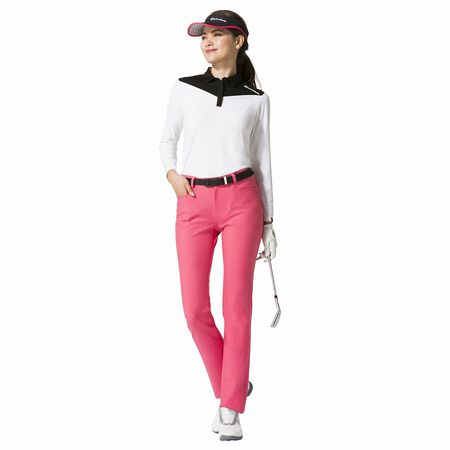 Women's Color Block L / S Polo