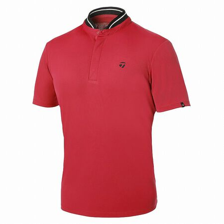 Stand Collar S / S Polo
