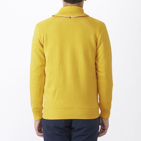 ウィンターファブリックミックスセーター