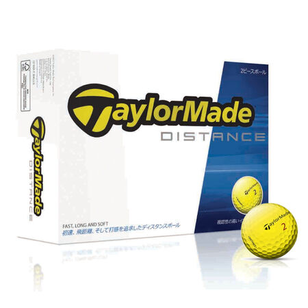 TaylorMade Distance Yellow ボール