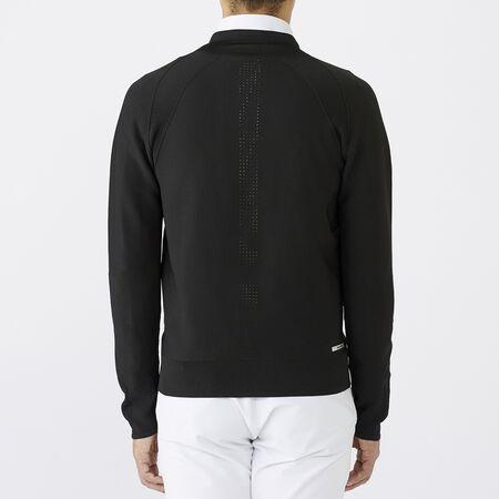 ホールガーメント フルジップ セーター