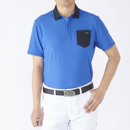 パンチングポケット S/S ポロ