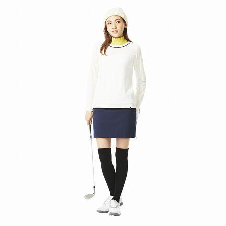 ホールガーメントクルーネックセーター