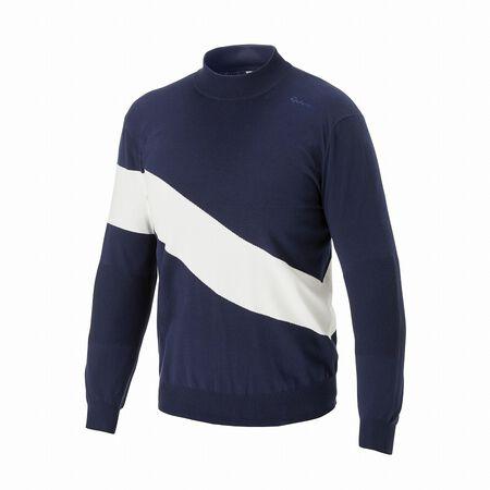 ハーフモックセーター