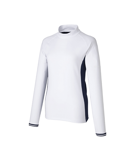 [KX754] U23844 ジャージー L/S モックシャツ