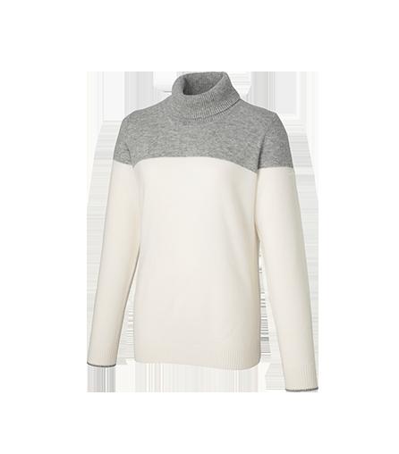 [KX751] U23835 カシミヤブレンド タートルネックセーター