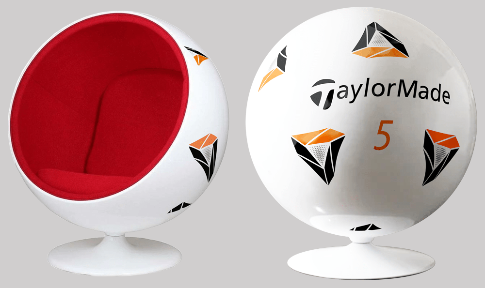 ボール型チェア ~TP5x pixデザイン~
